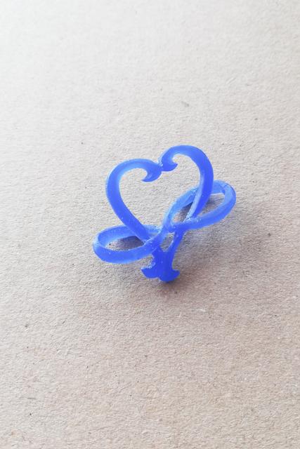 ハート リメイク オーダーメイド プラチナ 指輪