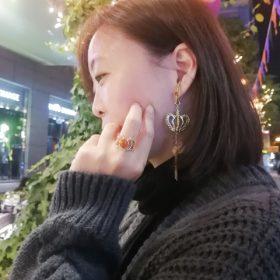 心ビタミン オンライン展示会 イヤーカフ チャーム イロジカケ シルバー