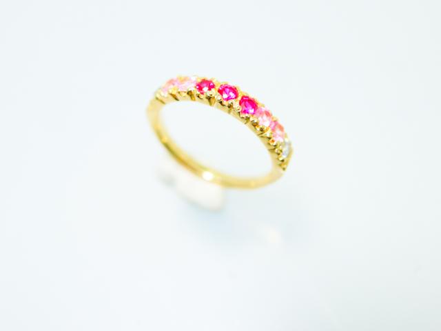キラキラ カラーストーン 指輪 イヤリング シルバー